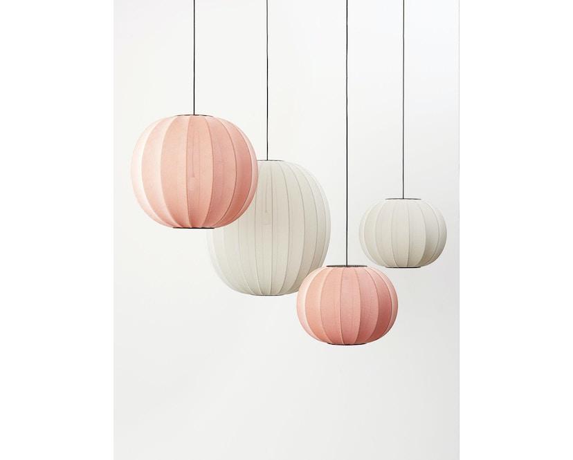 Made By Hand - Knit - Wit Hängeleuchte - 3
