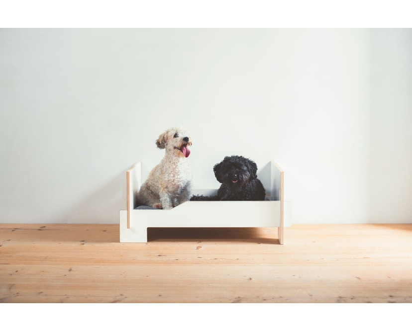 Moormann - Kläffer Hundebett - weiß - 6