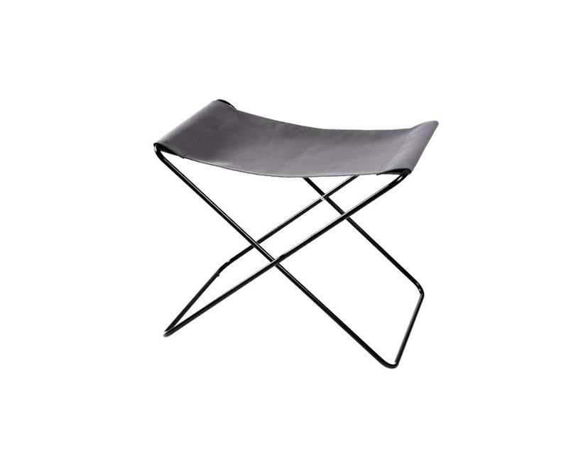 Manufakturplus - Fußteil für Hardoy Butterfly Chair - Stahlrahmen weiß, Acryl weiß - 1