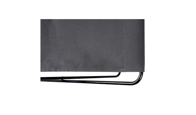 Manufakturplus - Fußteil für Hardoy Butterfly Chair - Stahlrahmen weiß, Acryl weiß - 3