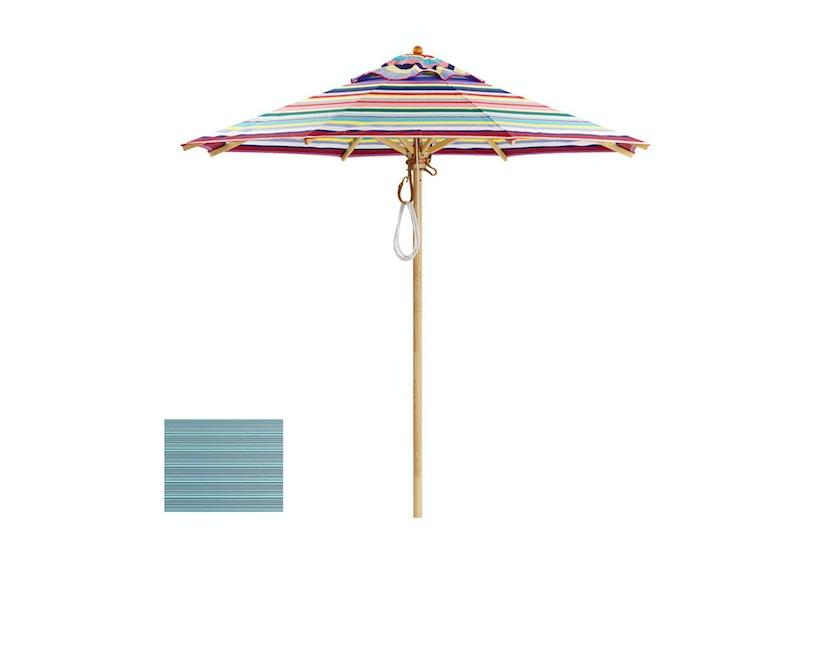 Klassiker Sonnenschirm - rund klein