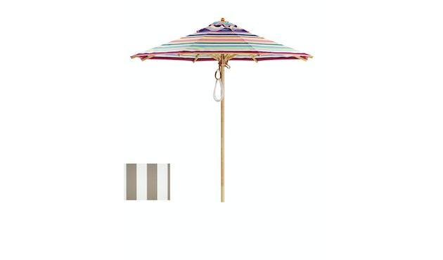 Klassieke parasol - rond klein