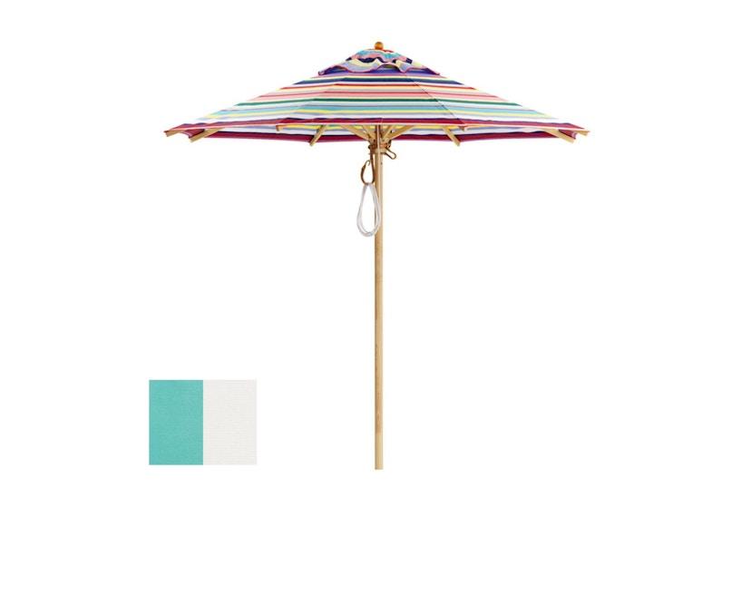 Klassiker Sonnenschirm rund klein