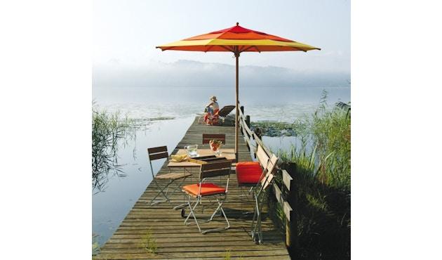 Klassiker Sonnenschirm - rund -Ø400 cm - natur - Produktauslauf_Weishäupl_Weishäupl