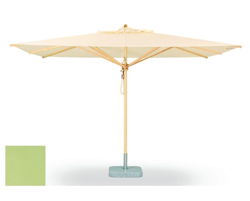 Weishäupl - Klassiker Sonnenschirm  - quadratisch groß - Acryltuch Mint - 0