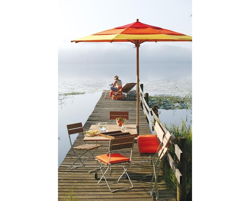 Weishäupl - Klassiker Sonnenschirm  - rund klein - Acryltuch Blue Sea Mini - 1