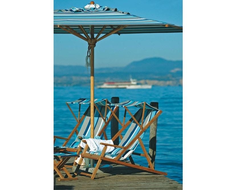 Weishäupl - Klassiker Sonnenschirm  - rund klein - Acryltuch Blue Sea Mini - 4