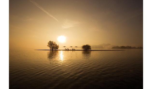 Weishäupl - Klassiker Sonnenschirm - rund klein natur - 17