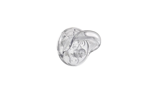 Kartell - Kleiderhaken Gancio - glasklar - 1