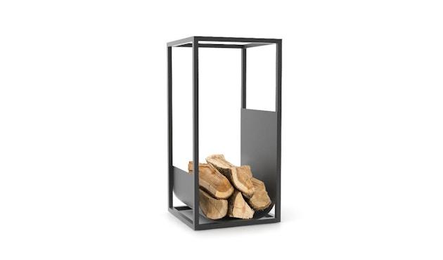 Conmoto - CUBE Brennholzregal - schwarz - 1
