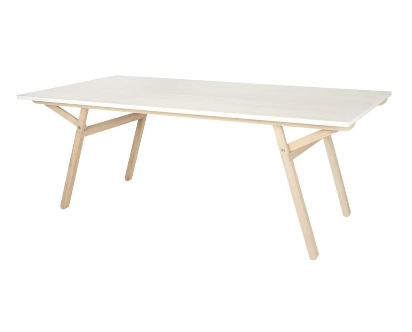 Moormann - Klopstock Tisch S - Melaminharz weiß - 2