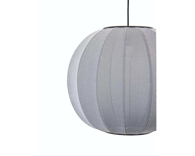 Made By Hand - Knit - Wit KW45 Hängeleuchte - silber - 4