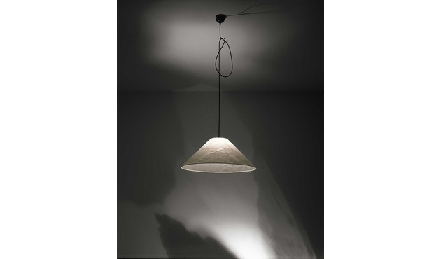Ingo Maurer - Knitterling - pendellamp - zonder papierafdekking - 200 cm - 2