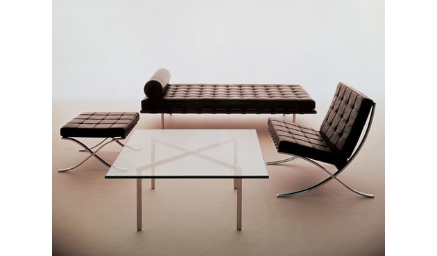 Knoll International - Mies van der Rohe Barcelona Ottoman - 5