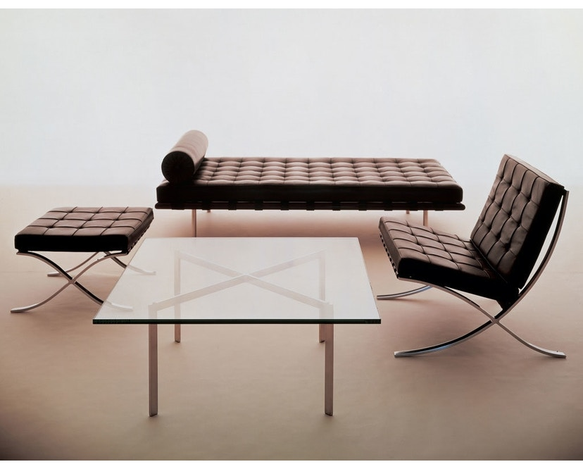 Knoll International - Chaise longue Mies van der Rohe Barcelona  - 4