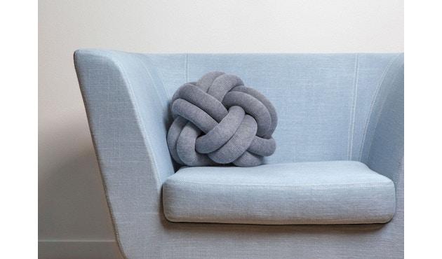 Design House Stockholm - Knot Kissen - gelb - 4