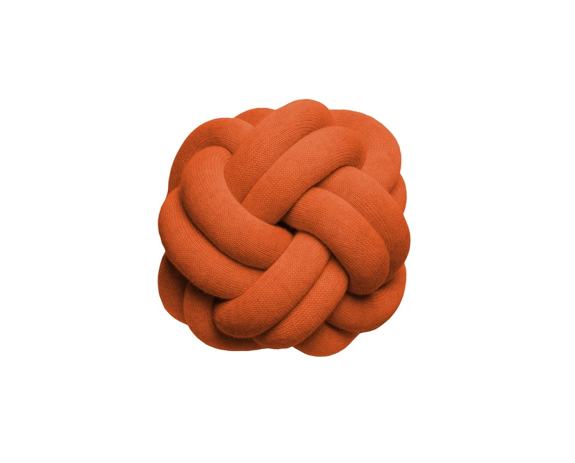 Design House Stockholm - Coussins Knot - Tomato Red - 1