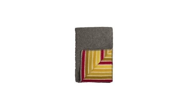 Roros Tweed - Konfetti Decke - grey-yellow - 1