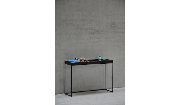 Jan Kurtz - Pizzo Konsolentisch - Esche weiß/silber - 100 x 70 x 34 cm - 8