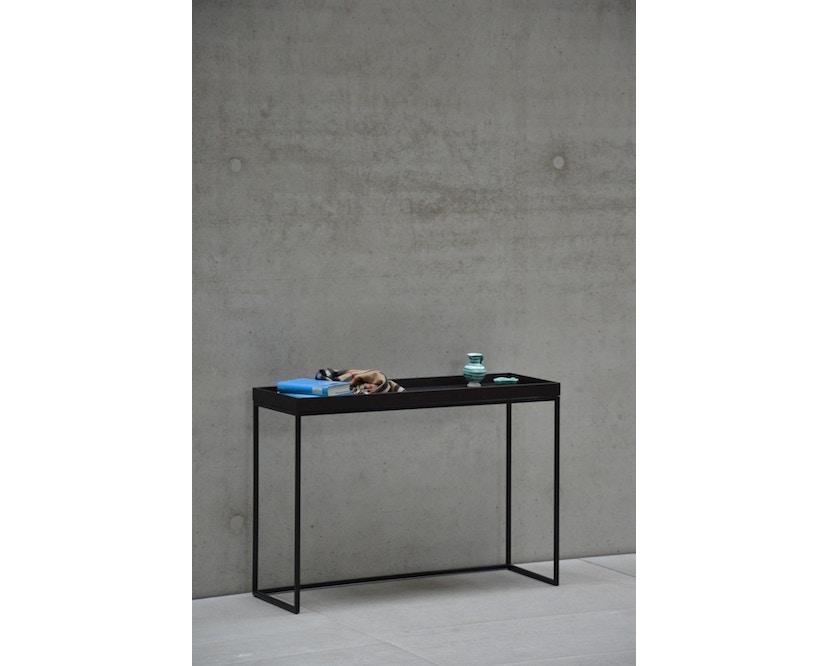 Jan Kurtz - Pizzo Console tafel - Es wit - zilver - 8