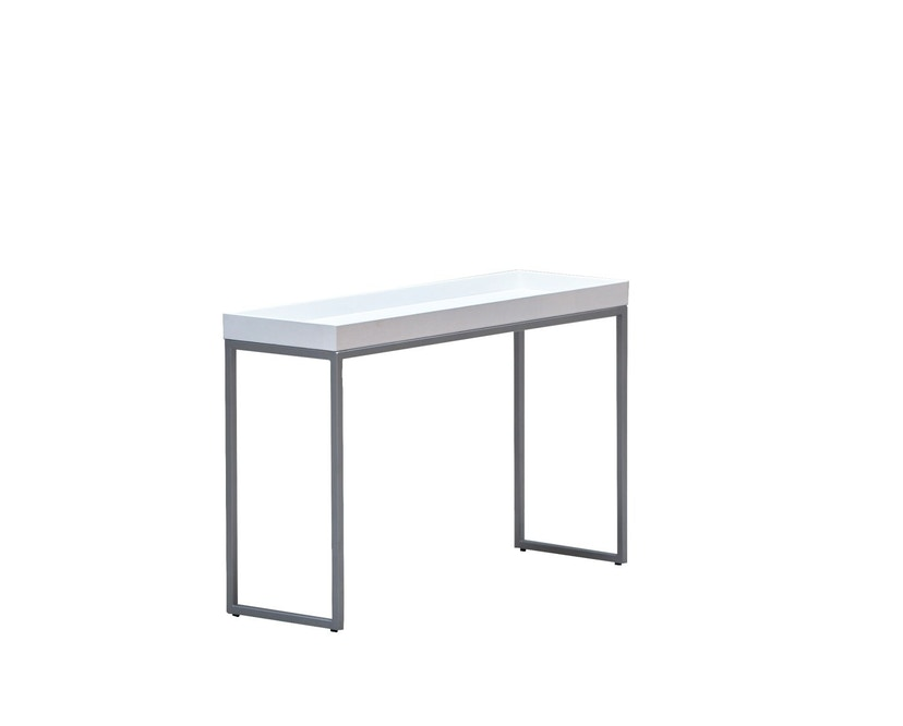 Jan Kurtz - Pizzo Console tafel - Es wit - zilver - 2