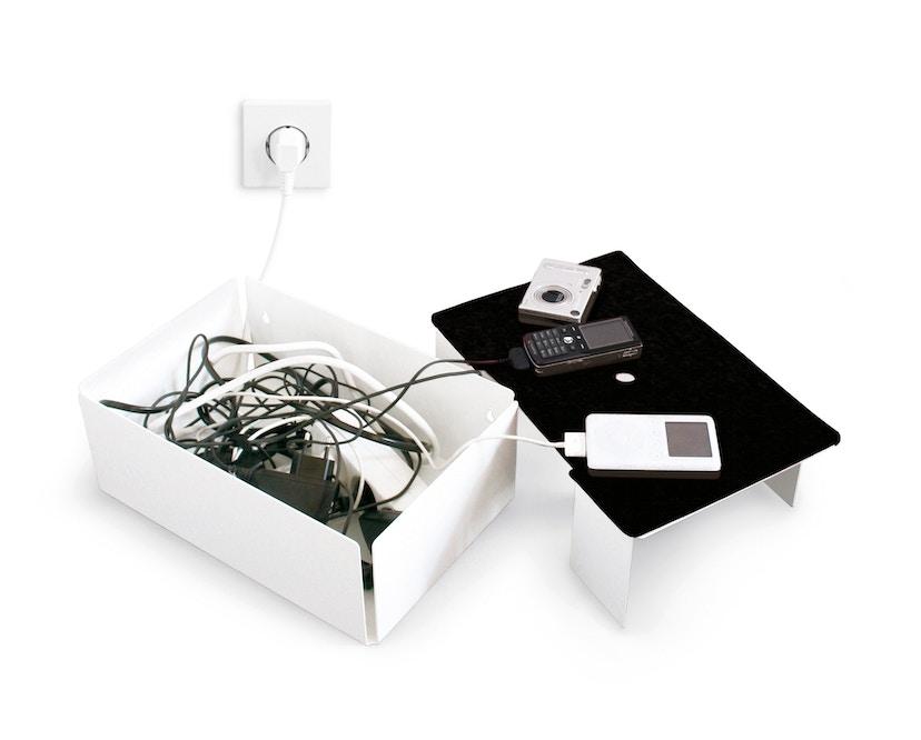 Konstantin Slawinski - Charge Box - Filz schwarz - weiß - 4