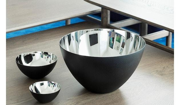 Normann Copenhagen - Krenit Schale - silber - 16 cm - 2