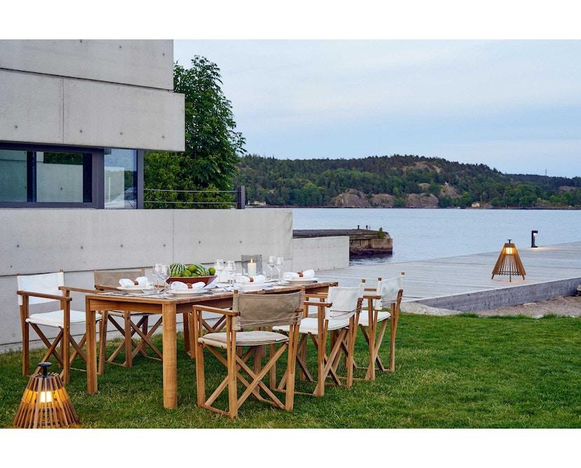 Skargaarden - Kryss Dining Stuhl - Tuch - natur - 3