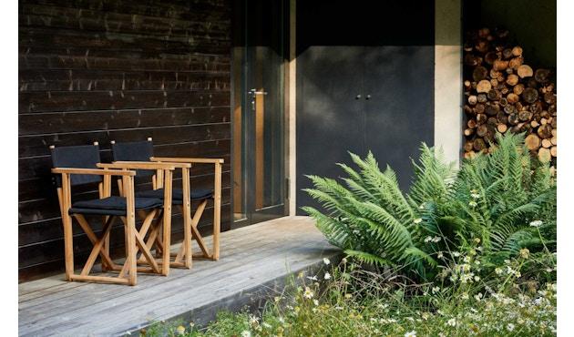Skargaarden - Kryss Lounge Stuhl - Tuch - natur - 3