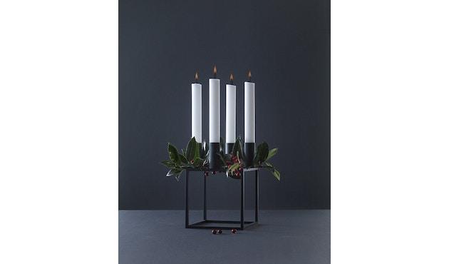 by Lassen - Kubus 4 Kerzenhalter - weiß - 3