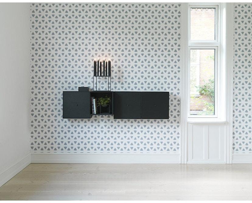 by Lassen - Kubus 8 kandelaar  - zwart - 3