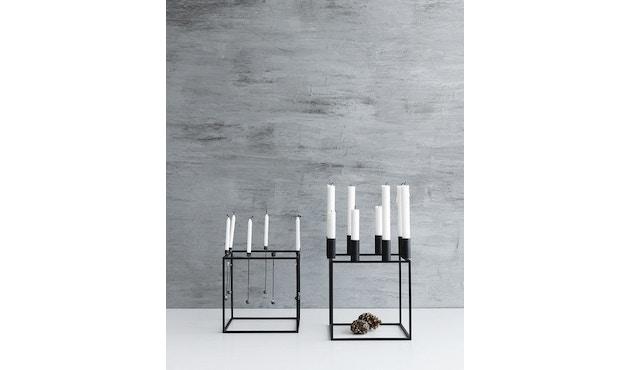 by Lassen - Kubus 8 Kerzenhalter - weiß - 8