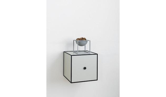 by Lassen - Kubus Bowl große Schale - cool grau - 15