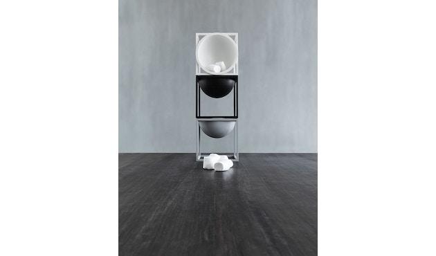 by Lassen - Kubus Bowl große Schale - cool grau - 19