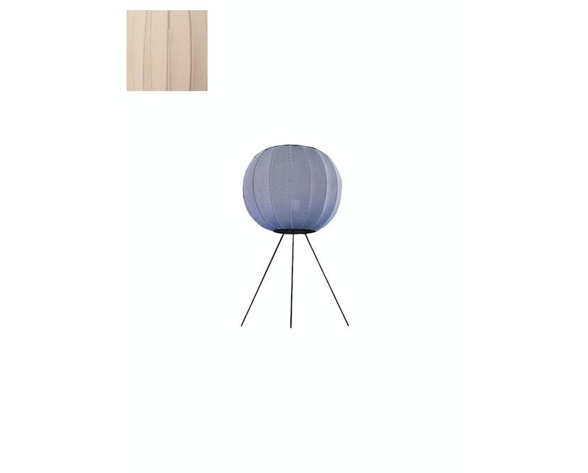 Made By Hand - Knit - Wit KW45 Standleuchte - low - sandstein - 1