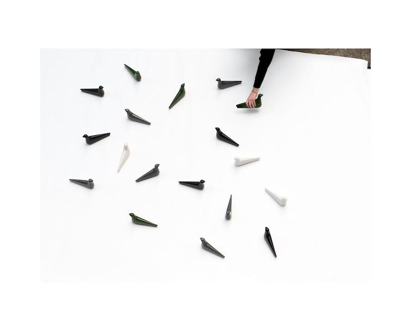 Vitra - L'Oiseau - Keramik - efeu glänzend - 6