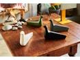 Vitra - L'Oiseau - Keramik - kohle matt - 6