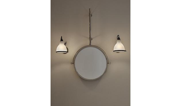 DCW éditions - LAMPE GRAS N°304 BATHROOM CL I Wandleuchte - polycarbonat - gestell schwarz - 1