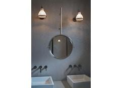 DCW éditions - LAMPE GRAS N°304 BATHROOM CL I Wandleuchte - polycarbonat - gestell schwarz - 0