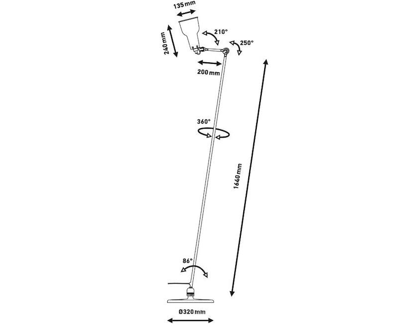 DCW éditions - LAMPE GRAS N°230 Stehleuchte - 9