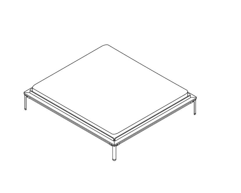 Moormann - Lattenrostblende für das Seiltänzer Bett - 1