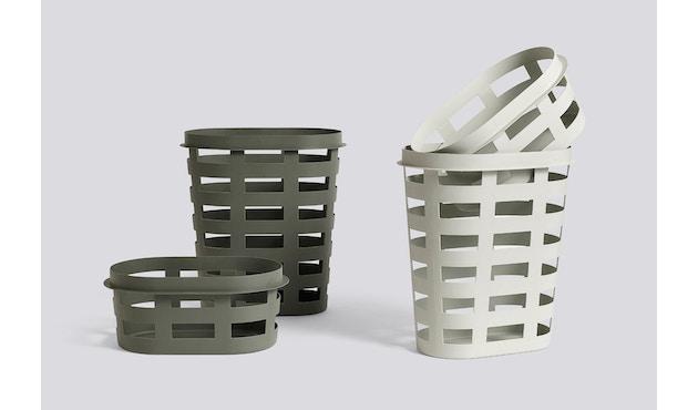 HAY - Laundry Basket Wäschekorb - army - S - 2
