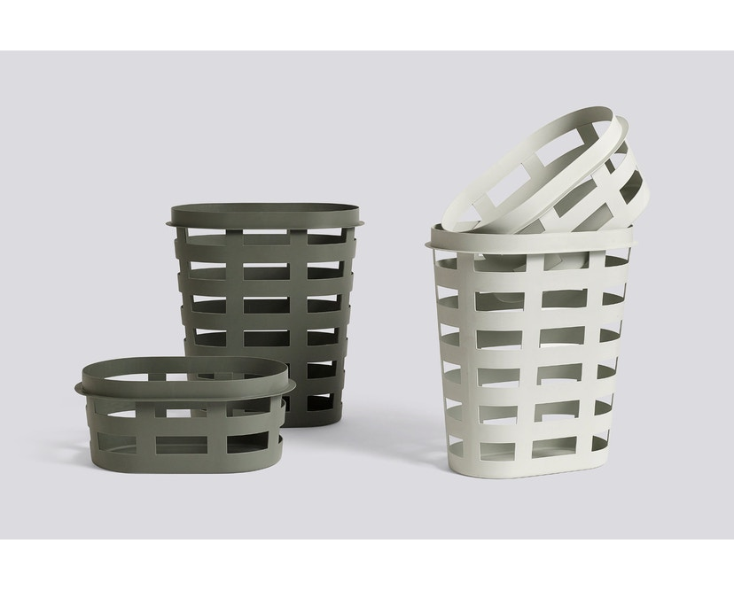 HAY - Laundry Basket Wäschekorb - hellgrau - L - 2