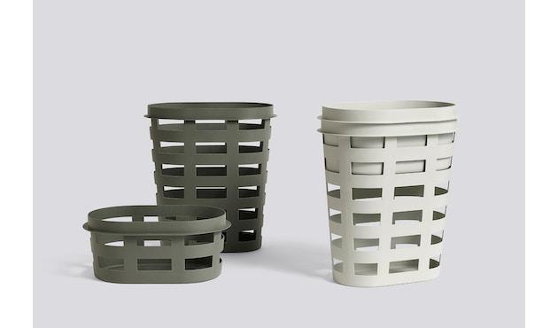 HAY - Laundry Basket Wäschekorb - hellgrau - L - 3
