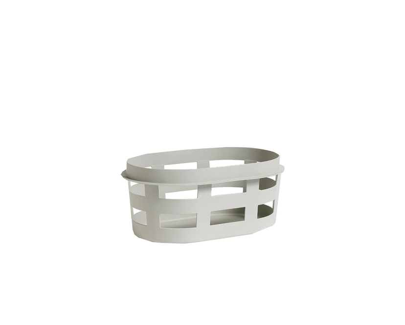 HAY - Laundry Basket Wasmand - S - lichtgrijs - 1