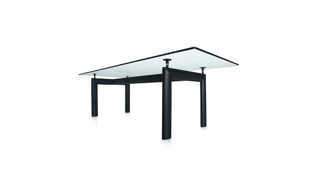 Cassina - Table LC 6  - verre cristal - noir - 1