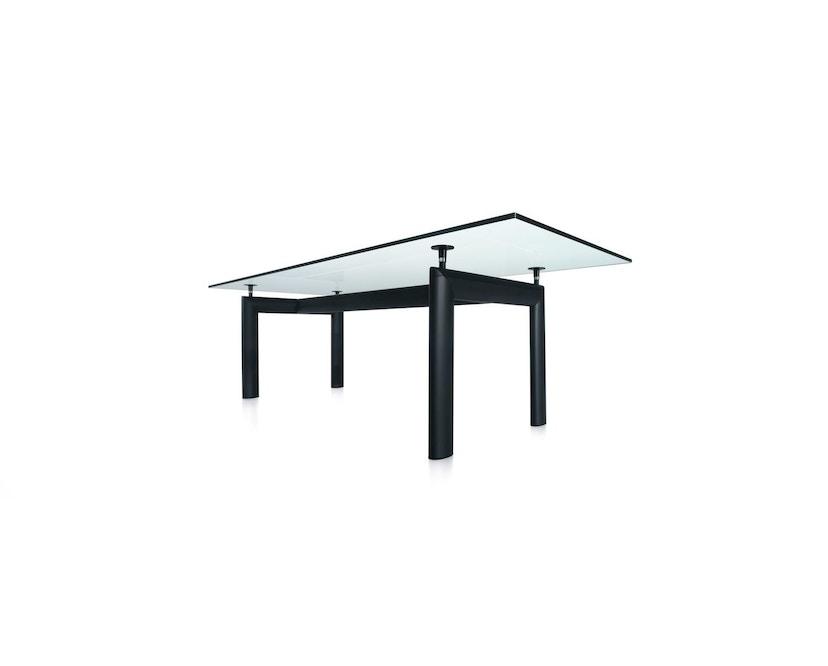 Cassina - LC 6 Tisch - Tischplatte aus Kristallglas - Gestell schwarz - 1