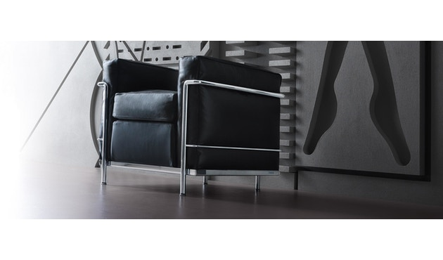 Cassina - LC 2 Poltrona fauteuil - 5