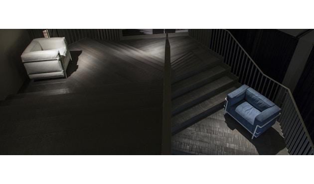 Cassina - LC 3 Poltrona Sessel - Gestell schwarz - schwarz - 4