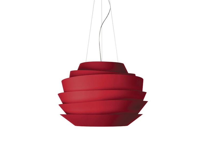 Foscarini - Le Soleil Hängeleuchte - Halogen - rot - 0